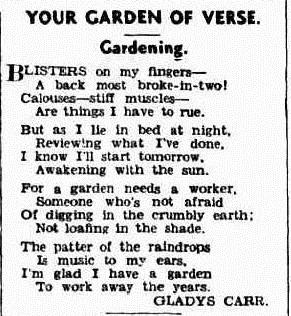 GARDEN Western Mail (Perth, WA  1885-1954), Thursday 21 March 1940