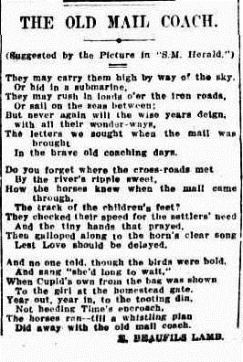 stage The Sydney Morning Herald (NSW 1842-1954), Saturday 7 June 1924