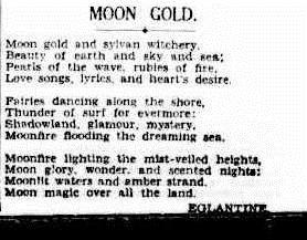 MOON The Sydney Morning Herald (NSW  1842-1954), Saturday 2 January 1937