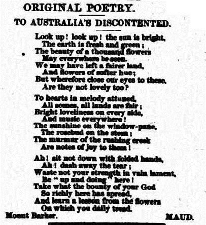 SUN The South Australian Advertiser (Adelaide, SA  1858 - 1889), Thursday 14 October 1858,
