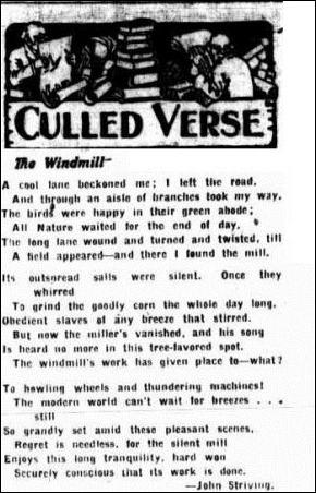 WINDMILL Worker (Brisbane, Qld. 1890 - 1955), Wednesday 17 October 1928