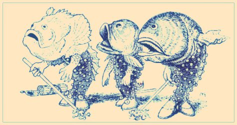 THE GEM 18 NOV 2014 : Bill was a tropical fish. His native habitat was hot water.