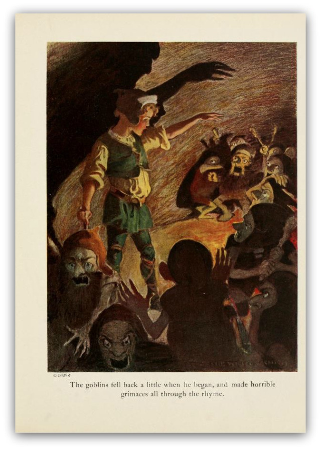 """THE GEM 14 APRIL 2018 : Morning and evening Maids heard the goblins cry. Only women can hear the goblins. Are the men completely absent in the world of """"Goblin Market,"""" or do the goblins not represent a threat to them?"""